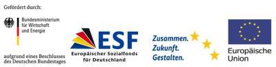 BAFA ESF Europäische Union Bundesministerium für Wirtschaft und Energie Unternehmen