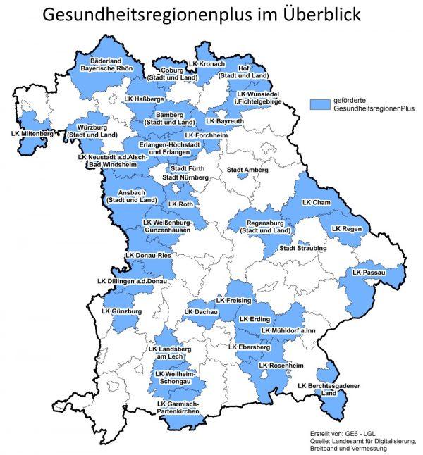 Bayern Gesundheitsregion PLUS Gesellschaft